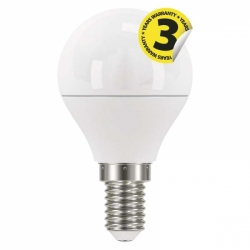 LED E14 6W globe WW ZQ1220 EMOS